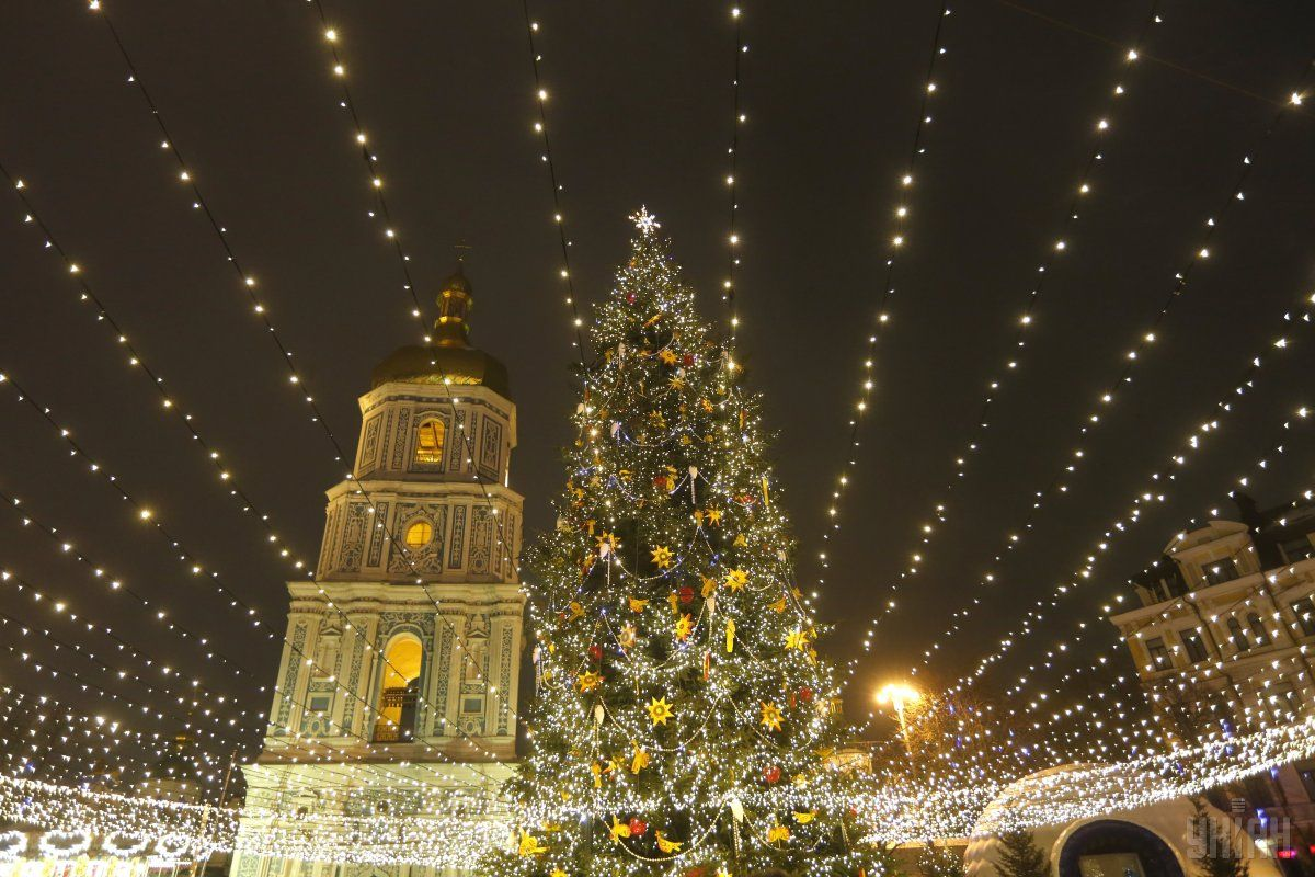 New Year holidays in Kiev